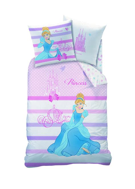 parure housse de couette disney princesses happy ending plushtoy