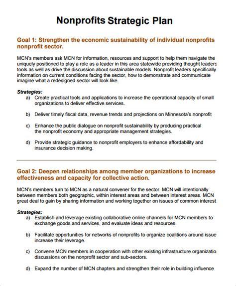 sample nonprofit business plan  google docs