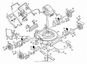 Poulan Pp722l Mower Parts Diagram For Rotory Lawn Mower