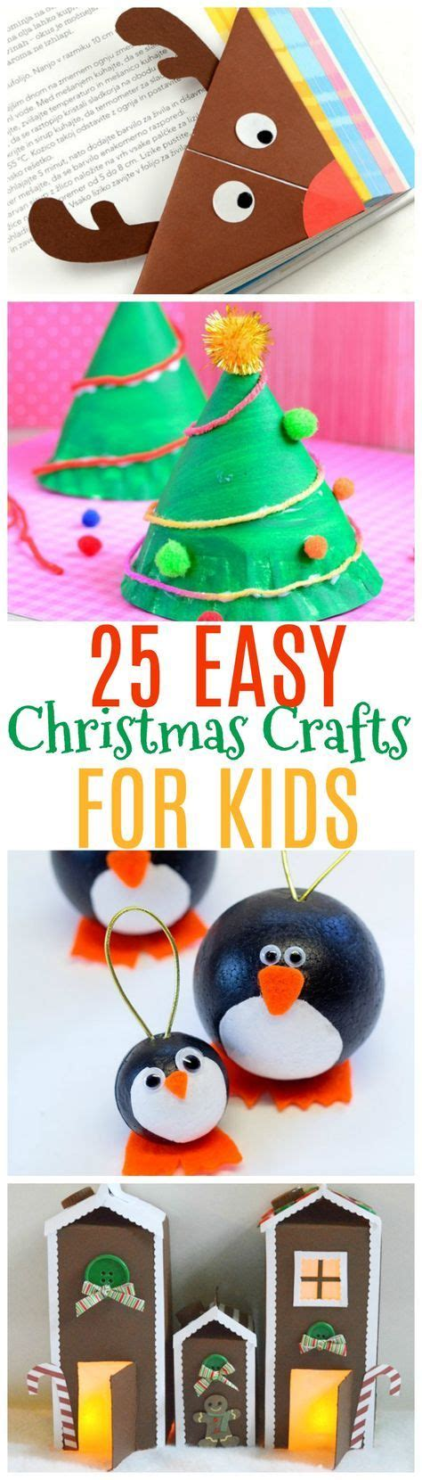 easy christmas crafts  kids