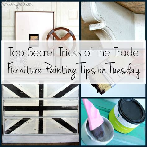 tips on painting furniture furniture painting tips on tuesday refunk my junk