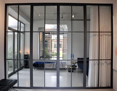 Mit Glaswand glaswand mit schlanken sprossen interiors in 2019