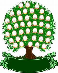 Colorful Family Tree Background - Cliparts.co