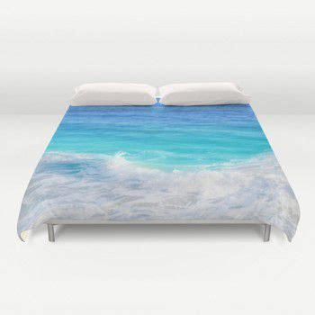 teal blue ocean water duvet cover beachlovedecorcom