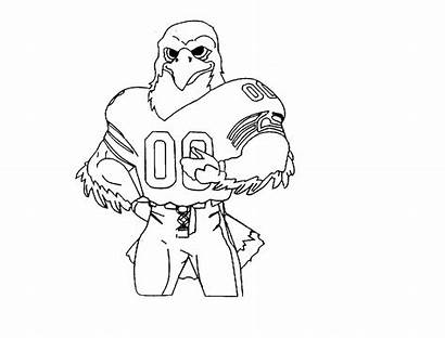 Seahawks Coloring Seattle Pages Drawing Printable Lynch