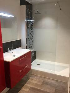 Parquet Salle De Bain : stunning carrelage salle de bain imitation parquet ~ Dailycaller-alerts.com Idées de Décoration