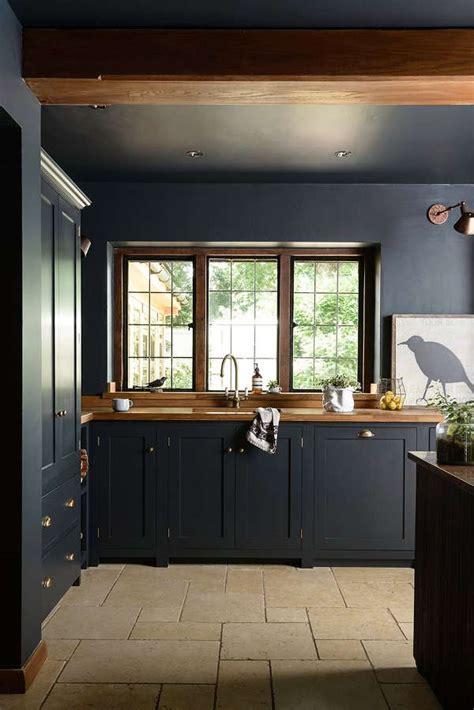 dark  atmospheric vintage moody kitchen  devol digsdigs