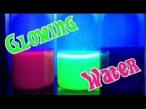 glowing water    drink youtube