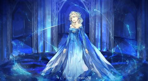 Animated Princess Wallpapers - frozen princess elsa animated artwork