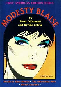 Cover For First American Edition Series  Modesty Blaise