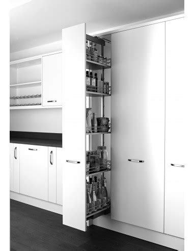 kitchen pull out storage units klf300fesc kessebohmer pull out larder for kitchens 163 8401