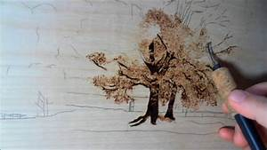 Jeans, Pyrography, Art, How, To, Draw, A, Tree