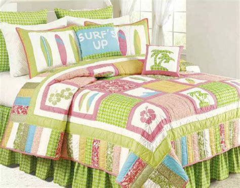 Surf's Up Tropic Quilt & Bedding by C&F Enterprises