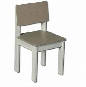 Chaise Blanche Et Grise : chaise blanche et grise maison design ~ Teatrodelosmanantiales.com Idées de Décoration