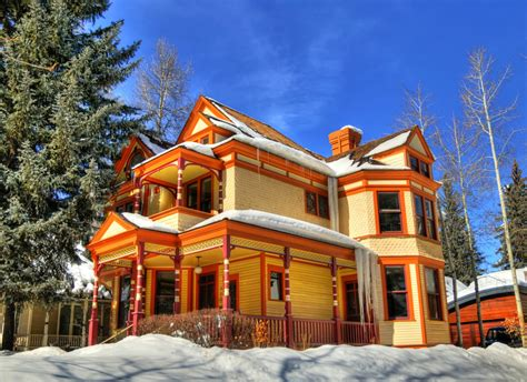 House In Aspen by House In Aspen Colorado Jigsaw Puzzle In Puzzles