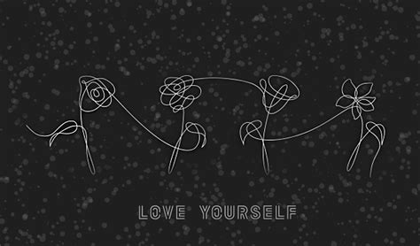 bts black aesthetic wallpapers yellow quotes le