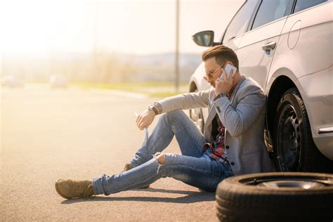 flat tire assistance  hour emergency services call