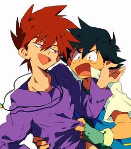 Pokemon Ash And Gary Gay Images | Pokemon Images