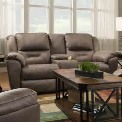 Southern Motion Leather Reclining Sofa by Southern Motion Pandora Reclining Console Sofa With