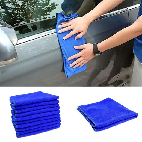 pc xcm superfine fiber cleaning towel car auto care