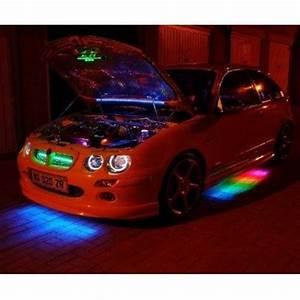 7 Color LED Kit RGB Neon Undercar Under Car Light Remote