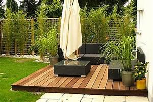 Terrasse Tiefer Als Garten : holzterrasse verlegen coole idee f r ihren au enbereich ~ Bigdaddyawards.com Haus und Dekorationen