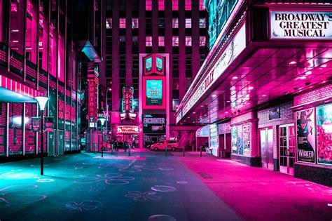 new york the lens of xavier portela neon