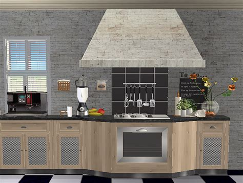 Kitchen Counter Add On by Sda Louisiana Kitchen Add On Slaved Stove Counters Sims 2