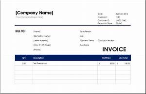 cleaning services invoice excel invoice templates With how to write an invoice for cleaning services