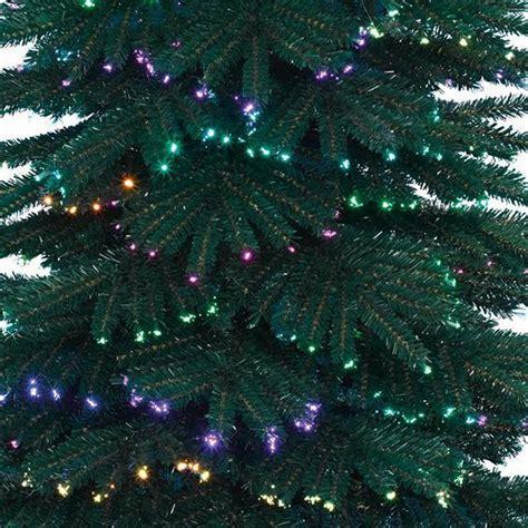sapin de noel fibre optique sapin de no 235 l fibre optique h150 cm sapin et arbre artificiel eminza