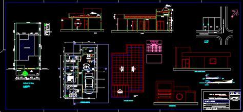 house  dwg block  autocad designs cad