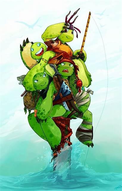 Ninja Turtles Deviantart Pirate Tmnt Turtle Mutant