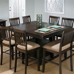 Dining Room Sets With Bench Jofran Bakers Cherry Counter Height Table With 1 Bench And 6 Chairs At Hayneedle
