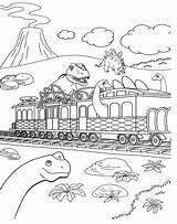 Train Dinosaur Coloring Pages Printable Preschool Entitlementtrap Brilliant Dino Agmc Save sketch template