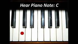 Hear White Piano Keys All 52 Notes Youtube