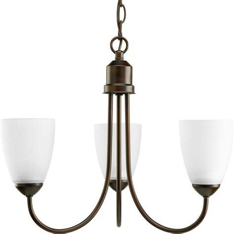 progress lighting chandelier progress lighting gather collection 3 light antique bronze