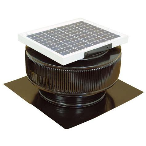 solar powered attic fan reviews active ventilation 740 cfm black powder coated 10 watt