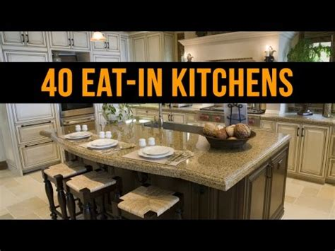 eat in kitchen designs 40 beautiful quot eat in quot kitchen design ideas 7019