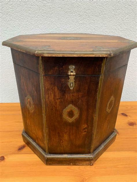 solid wooden stool storage furniture box wooden chair
