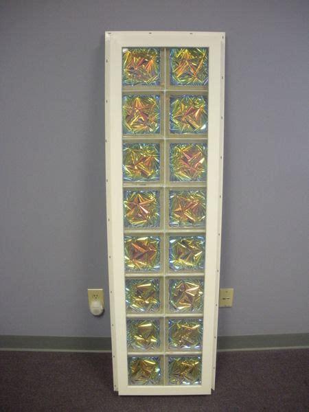 vinyl framed glass block windows  innovate building