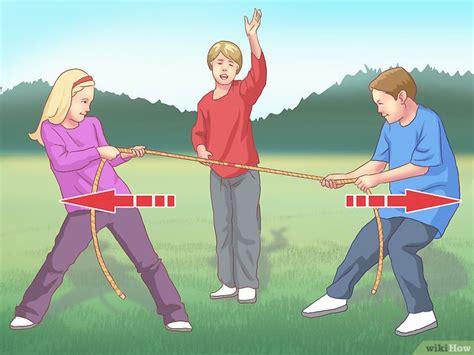 3 formas de jugar al juego de la soga (tira y afloja)
