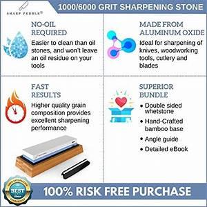Sharp Pebble Premium Whetstone Knife Sharpening Stone 2