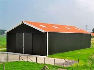 Hangar Metallique En Kit D Occasion : d tails des hangars en simple bardage ~ Nature-et-papiers.com Idées de Décoration