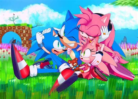 What if Sonic and Amy got married and had kids   Sonic the ...
