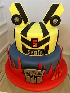 Transformer Birthday Cake  Detsky Narozeninovy Dort  With