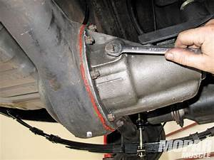 Installing A Drain-plug In The Differential Housing