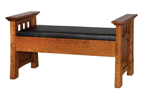 mission canyon bedroom bench seat countryside amish