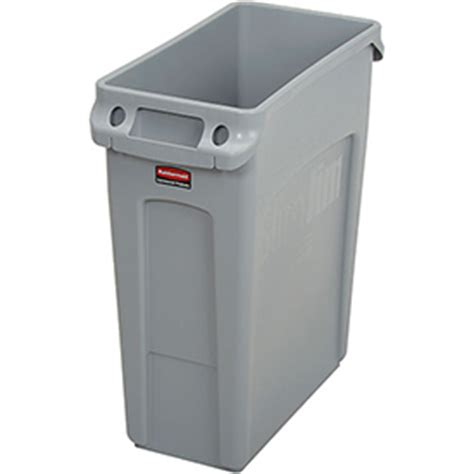 garbage can recycling plastic indoor rubbermaid