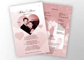 playbill wedding programs wedding invitations stationary