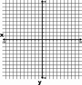 6 grid graph paper 10 to 10 coordinate grid with axes and increments labeled